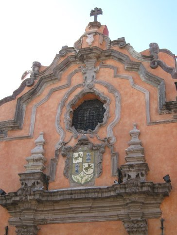 Lovely colonial architecture, Queretaro