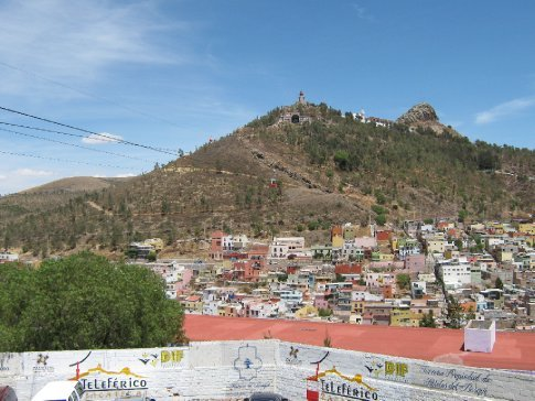 Mexico's only cable car - Zacatecas