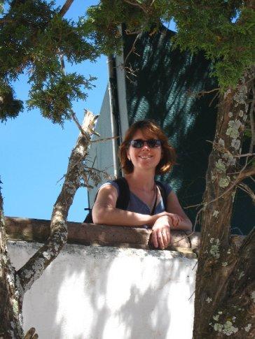 Rachel at the Cerro de la Bufa