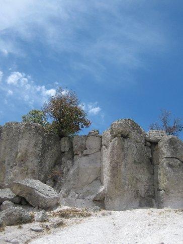 stones and sky, Creel