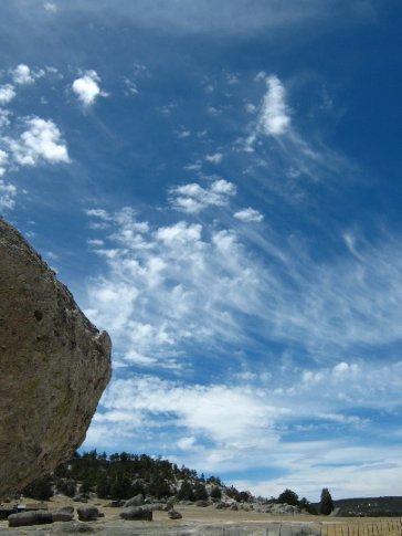 Lovely sky, Creel