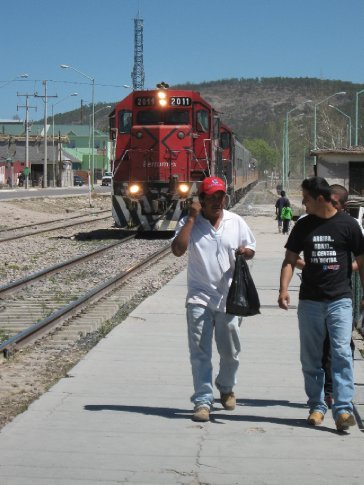 The Copper Canyon Express