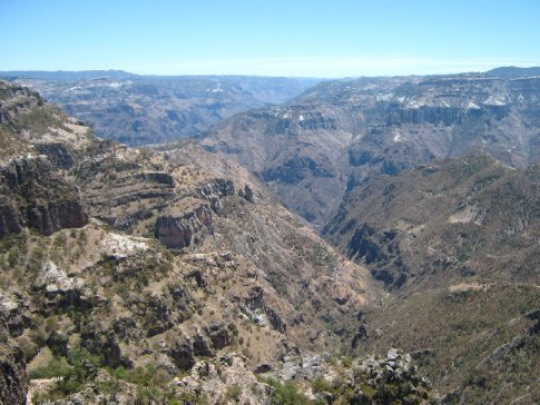 The glories of the Copper Canyon