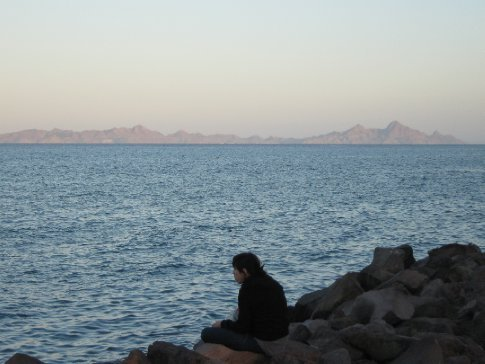 Sun on the Isla Coronados, Loreto