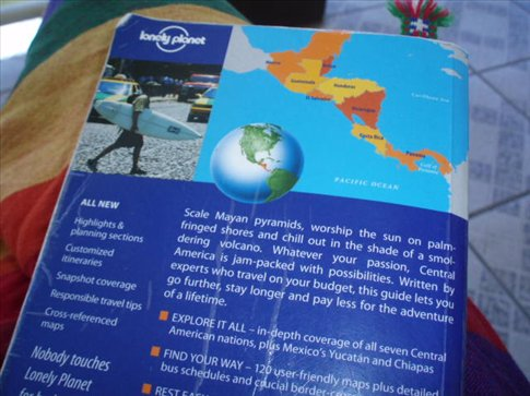 Lonely Planet - our lifeline for the year