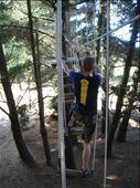 Simon on the rope steps (Adrenalin Forest): by rachel_simon, Views[218]