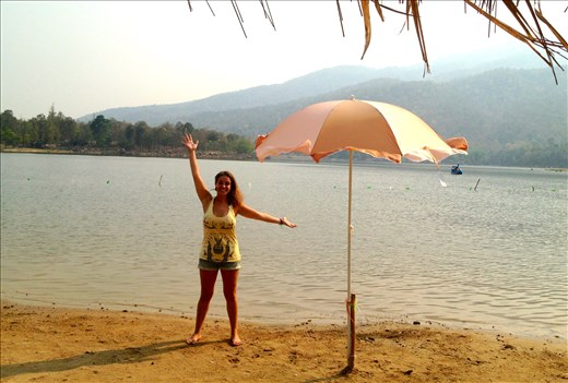 A day at the lake in Chiang Mai