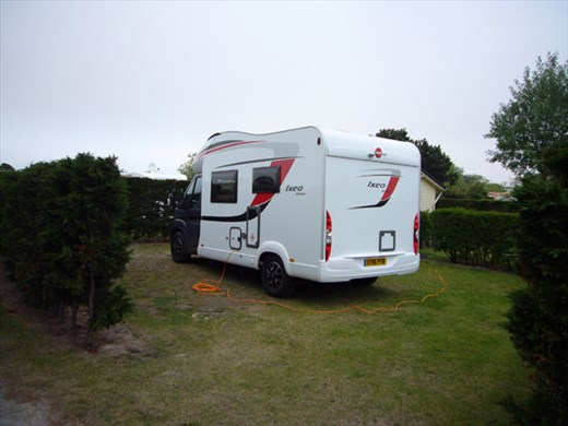 The motorhome (or the 'mistake' as it now known)