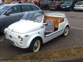 A rather sweet old Fiat 500 - a car that is very much still alive and well in Italy: by rachelsimonanddog, Views[483]