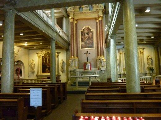 . . . a Catholic Church inside the convent