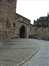 The footpath on the left was built by the French prisoners and it was built so horse and carriage could make their way up to the steep path to the castle. Shame they didn't have one of those when we were there. : by rachthe1st, Views[123]