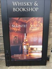 A whisky and bookshop, because when you go to buy a book you might feel like a whisky. : by rachthe1st, Views[150]