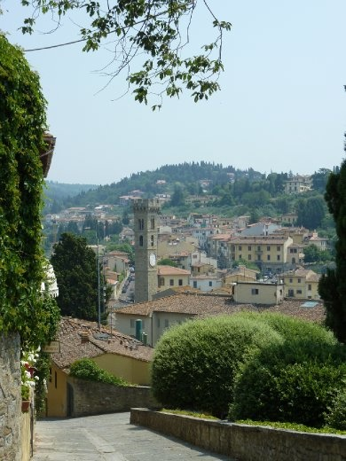 Road back down to Fiesole
