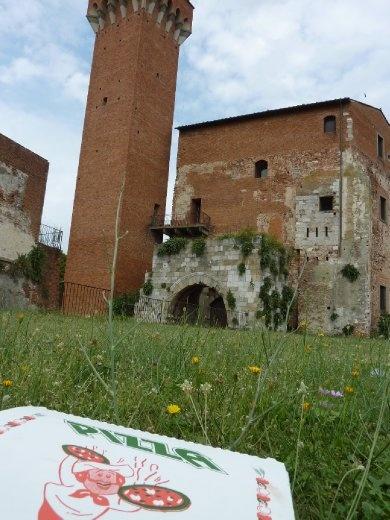 Pizza at the Citadel