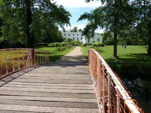 bridge to Morden Hall Manor