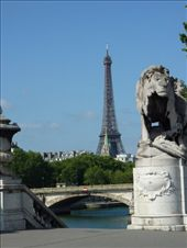 1st picture of the Eiffel Tower: by rachthe1st, Views[157]