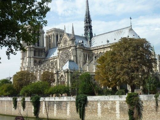 Notre Dame from the Siene