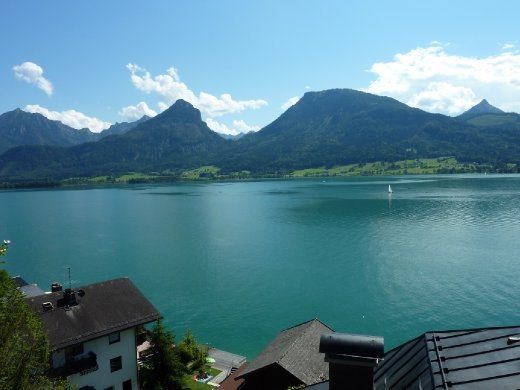 Wolfgangsee (where Mozart's mum was born)