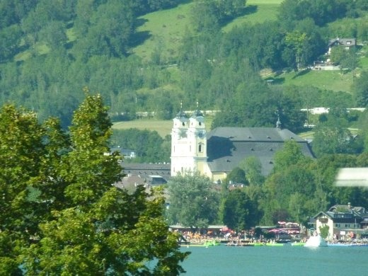 The church where Captain Von Trapp and Maria get married