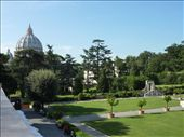 St Peter's Baslica and the Vatican Gardens that I just couldn't find the entrance for: by rachthe1st, Views[149]