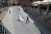 Picture from Sibiu (Romania - Hermannstadt: European Capital of Culture in 2007) - Bride and groom: by radasca, Views[794]