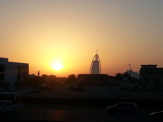 The Burj Al Arab, an exclusive hotel that I can only hope to see from the inside one day..