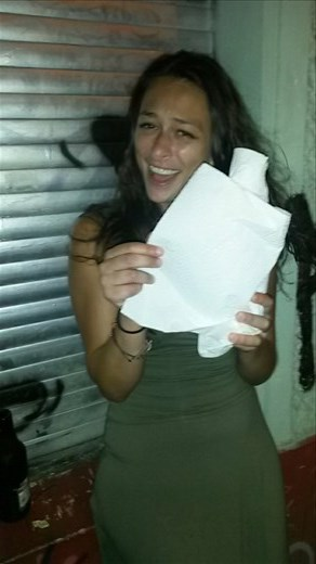 Karmen asked for a paper bag for our whiskey and the clerk wrapped the bottle in paper towels with a confused look on his face. Gave us a good laugh and we ended up really needing the paper towels :)