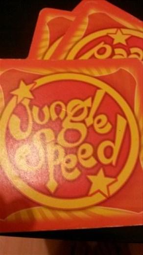 Fun card game.  Go buy it! Jungle speed.