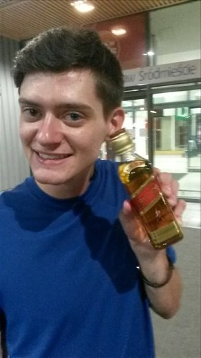 This bottle of Johnny Walker Red was about $4.50