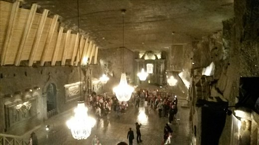 Saint Kinga cathedral, about 120 meters underground.