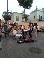 tired of walking, we found these guys playing nice music on the street. Lovely: by rahmanovicme, Views[270]
