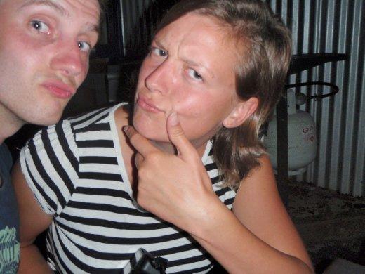 Henrike and I