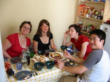 Rachel, Em, Amy, and Allen.