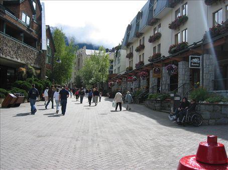 Whistler Village - Cloudy