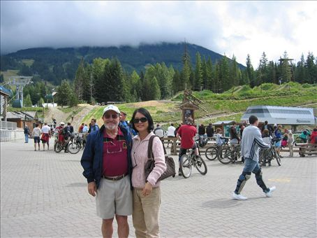 R & Y in Whistler