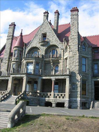 Castle in Victoria B. C.