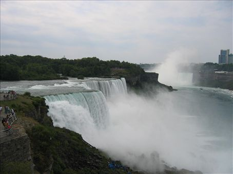 American Falls up close