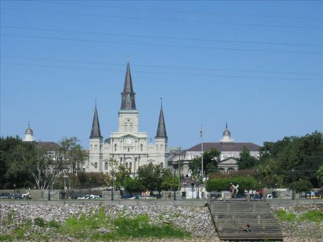 Cathedral in Jackson Square