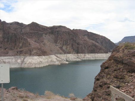 Lake Mead (Colorado Canyon above Hoover Dam)