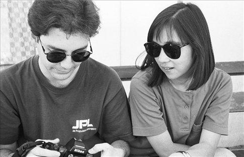 Rod and Lori in Tibet, 1994.