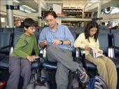 Waiting in the Houston Airport.: by rarakaki, Views[649]