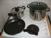 All the pots and pans ready to do their job.: by raspberrybullets, Views[241]