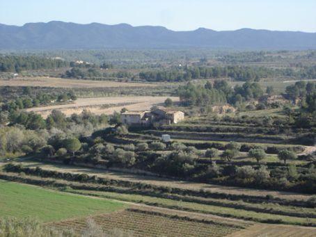 View from castle, Miravet, Catalunya