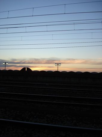 Sunrise over the med, Tarragona