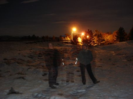 Us in a very small town called Grimsbu... was about -14.5 degrees when this was taken at about 11.30pm
