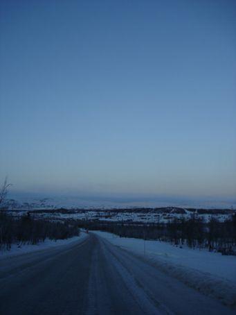 The landscape we drove through, just south of Rondane National Park