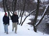 Tash and Diccon walking along Akerselva (early Feb 2007): by ray-charles, Views[194]