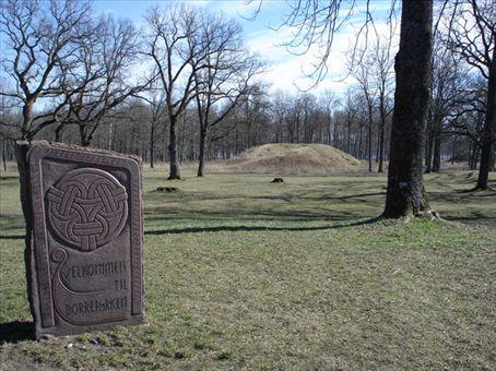 Borreparken - huge burial mounds from viking era
