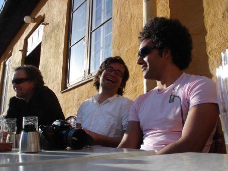 Kjetil (the big boss at Snohetta), Bartek and Peter at fredagspils.... friday beers