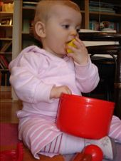 Elisabet - 9 months - who is Icelandic.  I look after her 5 days/week.: by ray-charles, Views[192]